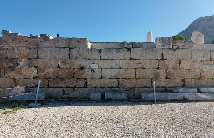 The Bema of Apostle Paul in Corinth