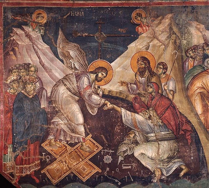 ressurection of christ mount athos