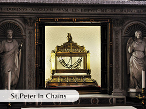 st peter in chains